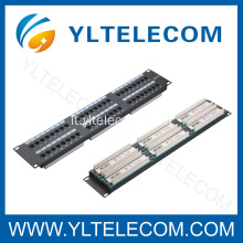 48port(6*8) Patch Panel cat. 5e e Cat. 6 tipo di 2U da 19 pollici